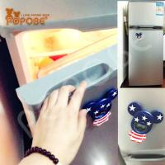 Buy cheap stainless steel fridge magnetic bottle opener 4 inch POPOBE Bear style from wholesalers