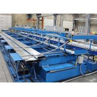 Buy cheap Steel C U Truss Furring Channel Roll Forming Machine Semi Automatic Roof Truss Shaping from wholesalers