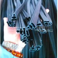 Buy cheap flexible PVC extrusion seal with strong magnetic strips from wholesalers