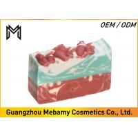 Buy cheap Pure Natural Organic Handmade Soap , Red Rose Gessential Oil Bar Soap Moisturizing from wholesalers