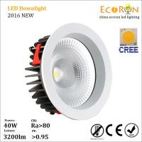 Buy cheap 900lm 95mm cutout led kitchen ceiling lighting 10w 15w led downlight cob ra80 from wholesalers