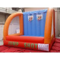 Buy cheap Lead Free Inflatable Jump Basketball Shootting ,Inflatable Amusement Park from wholesalers