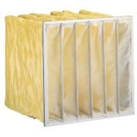 Buy cheap High efficiency customized Non - woven  Air Filter Media / Synthetic fabric/ F8 pocket air Filter from wholesalers