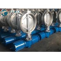 Buy cheap Carbon Steel Pneumatic Triple Eccentric Butterfly Valve Wafer Type Size Rating 2 To 60 from wholesalers
