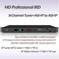 Buy cheap Eight-Channel DVB-S/S2 TO IP HD IRD With CI Slot RIH1308 from wholesalers