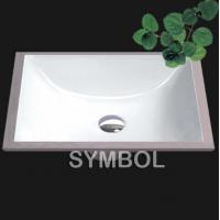 Buy cheap Cupc Certificated American Undermount Bathroom Porcelain Sink (SS-U1813) from wholesalers