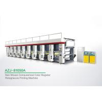 Buy cheap Powerful 8 Color Rotogravure Printing Machine For Once Through Continuous Printing 1250 MM from wholesalers