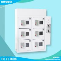 Buy cheap Self Service Wall Mounted Coin Operated Cell Phone Charging Station locker from wholesalers