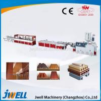 Buy cheap Jwell hot sale PVC WPC foaming single screw extrusion line from wholesalers