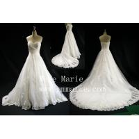 Elegant Sweetheart Eiffel Applique Wedding Dress Bridal Gown with Zipper BYB-14602 Manufactures