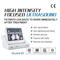 Wholesale Best Anti Wrinkle SMAS Ultrasonic HIFU Machine with 10000 Shots / High Intensity Focused Ultrasound from china suppliers