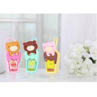 Buy cheap Personalised Silicone Gift Cute Cartoon Silicone Rubber Holder For Hand Sanitizer from wholesalers