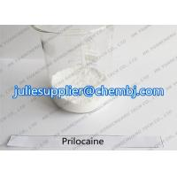 Buy cheap 99.9% Anti-paining Prilocaine Pharmaceutical Raw Materials CAS 721-50-6 for product