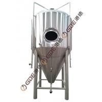Jacketed / Single Layer Beer Fermentation Tank Wort Fermenting Vessel For Brewery Manufactures