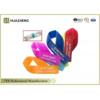 Buy cheap 25 X 220MM Colorful and Recycle Hook And Loop Strao Releasable Cable Ties Wrap Durable from wholesalers
