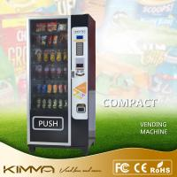 Compact Dried Fruit Cold Drinking Vending Machine Dispenser With Card Reader KVM-G636 Manufactures