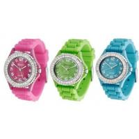 Buy cheap Silicone Geneva Watch from wholesalers