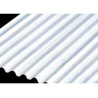 Buy cheap Building Roof 6061 4mm Aluminum Sheet , Smooth Curving Corrugated Roof Sheets  from wholesalers
