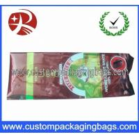 PET / AL / PE 1000g Side Gusset Coffee Bag Packaging with Valve Manufactures