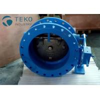 Buy cheap No Water Hamer Ductile Iron Silent Tilted Disc Check Valve With Hydraulic Damper from wholesalers
