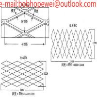 Buy cheap expanded metal fence panels/expanded metal catalogue/aluminum expanded metal/aluminum expanded mesh suppliers from wholesalers