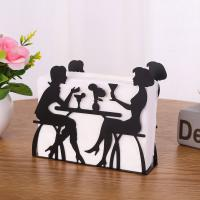 Buy cheap Modern Decorative Metal Iron Tissue Holder For Office from wholesalers