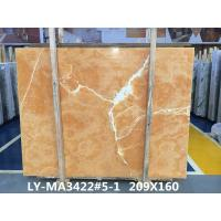 Buy cheap Orange Onyx Tile And Slab Marble Style Tiles For Luxury Building Interior Decoration from wholesalers