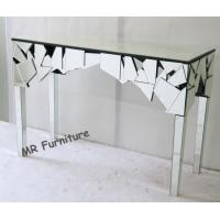 Hotel Lobby Mirror Furniture Set Contemporary Design Mirrored Console Table