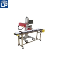 Buy cheap 15000mm/S Co2 Laser Printer , 10600nm Round Bottle Labeling Machine from wholesalers