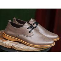 Wholesale British Derby Style Comfortable Casual Shoes For Business Chromatic Out - Sole from china suppliers