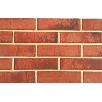 Imitated Home Wall Decorative Red Clay Brick 1202 - 1441N Breaking Strength Manufactures