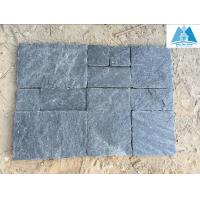 Buy cheap Black Quartzite Pavers Set Patio Flooring Stone Paving Stone Pavement Flooring Covering from wholesalers