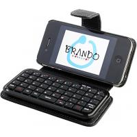 Buy cheap Mini computer IPhone 4 Bluetooth Keyboard Cases with micro USB port charging for email from wholesalers