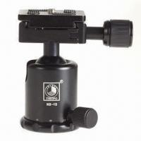 Buy cheap Professional Tripod Ball Head for Camera, Comes in Black and Red from wholesalers