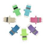 Buy cheap Ceramic Sleeve Fiber Optic Adapter , FC Fiber Optic Cable Adapter OM4 / OM5 Colors from wholesalers