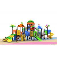 Buy cheap Garden Recycled Childrens Plastic Playground Equipment Outdoor Toys Slide from wholesalers
