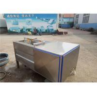 Buy cheap Adjusting Conveying Speed Fruit Washing Machine Food Grade Water Saving product