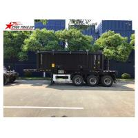 Wholesale Transport Container Skeletal Container Trailer 3 Axles Lightweight Heavy Capacity from china suppliers