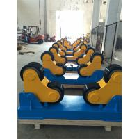 Tank PIpe Self-Aligning Rotators With Double Drive , 0.1-1 m/min Roller Speed Manufactures