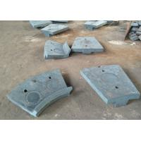 Cr-Mo Alloy Steel Casting of Discharge End Liners  for Ball Mill Parts Manufactures