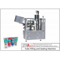 Buy cheap Automatic Tube Filling And Sealing Machine For Hand Cream / Honey / Shampoo from wholesalers