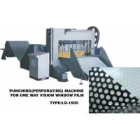 Buy cheap Perforating Machine for One Way Vision Film from wholesalers