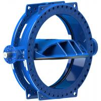 Buy cheap Stainless Steel Double Eccentric Butterfly Valve For Water Distribution System / HVAC System from wholesalers