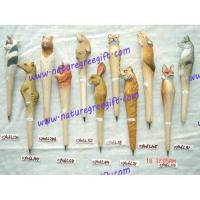 Buy cheap Wood carved  pen from wholesalers