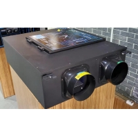 Buy cheap Duct installation brushless DC motor energy recovery ventilation for 80-120 square metre from wholesalers