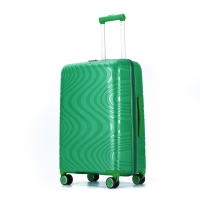 Wholesale Green ODM 0.8mm Aluminum PP Trolley Luggage from china suppliers