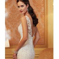 Buy cheap White Sexy Off Sholder Ladies Wedding Dresses , Muslim Wear Long Sleeve Ball Gown from wholesalers