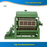 Buy cheap Professional pulp molding machine make egg tray from wholesalers