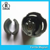 Buy cheap C5 Grade Permanent Ferrite DC Motor Magnet High Performance R13.15*R8.8*H21mm from wholesalers
