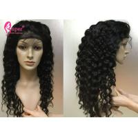 Buy cheap 130% 150% 180% Density Human Lace Front Wigs 100% Natural Cuticle Aligned from wholesalers
